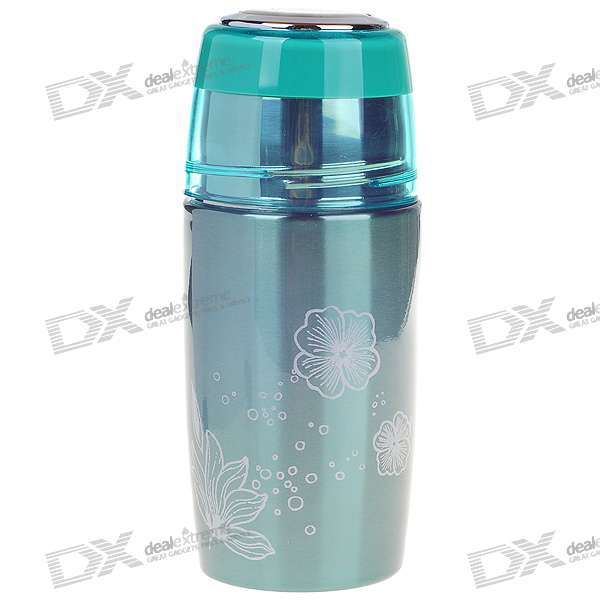 Stainless Steel Vacuum Bottle - Green (320ml) indian steel industries performance and prospects