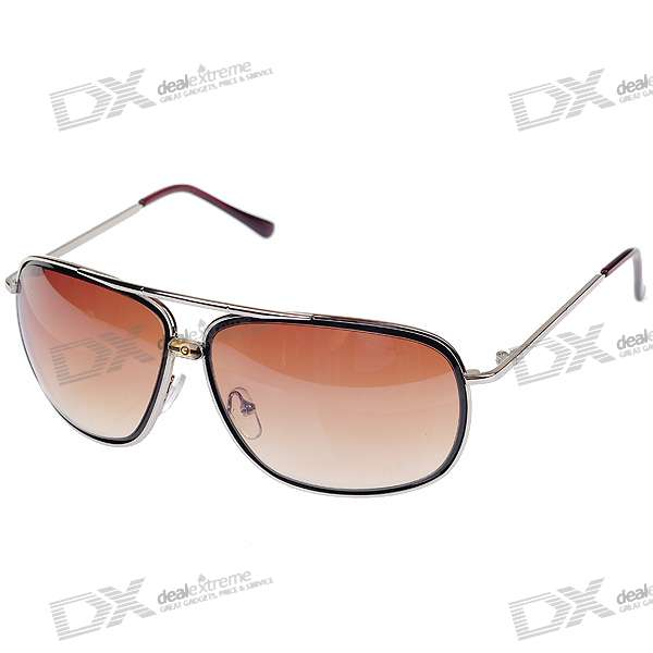 Fashion UV400 UV Protection Alloy Frame Sunglasses with Carrying Case fashion sunglasses with colorful frame 100% proof uv protection square eyeglass unisex