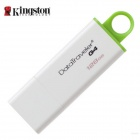 Kingston DTIG4/128GB USB 3.0 Flash Drive - White+ Green (128GB)