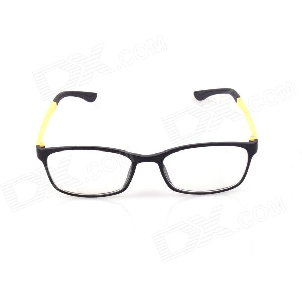 SYS0069 PC Radiation Protection Glasses / Myopic Glasses Frame - Black + Yellow