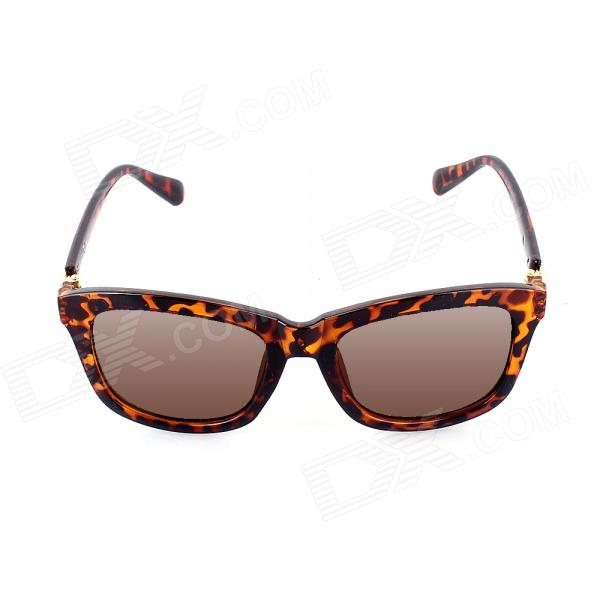 SYS0082 Classic Leopard PC Frame PC Lens UV400 Sunglasses - Leopard Black 5307 open bearing 35 x 80 x 34 9 mm 1 pc axial double row angular contact 5307 3307 3056307 ball bearings
