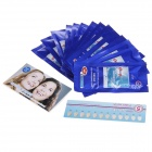 ONUGE 30-Minute Effective Teeth Whitening Strip Patch - White (14 Piece)