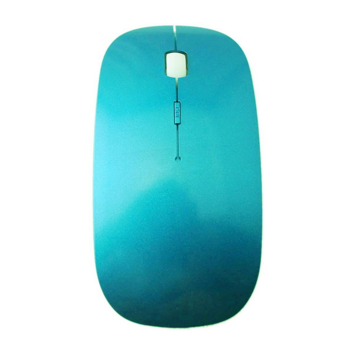 Bluetooth V3.0 1600 dpi Wireless Gaming Mouse ergonómico - Azul (2 x AAA)