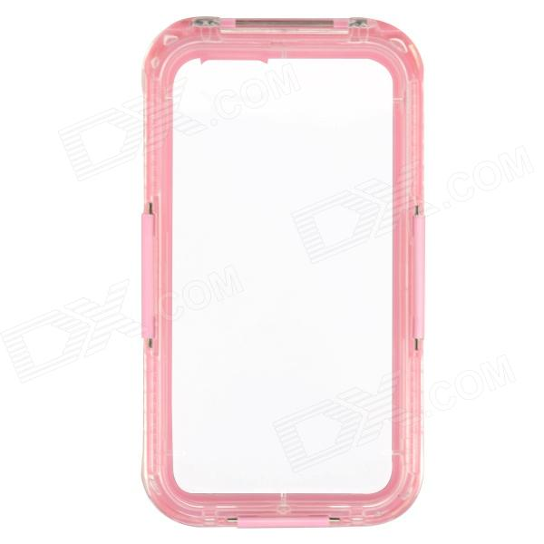 Saim Protective Waterproof Shock-resistant Shell for IPHONE 6 - Pink + Transparent