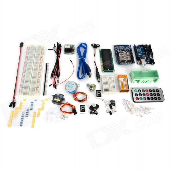 Robotale KT0029 Learning Kit conjunto para Arduino UNO R3 - Deep Blue + multicolor