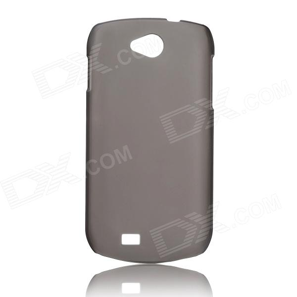 DOOGEE Protective PC Back Case for DOOGEE Collo3 DG110 - Gray doogee dg100 lcd display touch screen frame used 100% repair replacement accessories for doogee collo dg100 phone