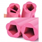 DIY Hair Curler Roller Spiral Hairdressing Tool - Pink (6 PCS)