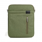 "Lenuo Stylish Ultrathin Protective Linen Soft One-Shoulder Bag for 7""~11"" Tablet PC - Green"