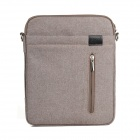 "Lenuo Stylish Ultrathin Protective Linen Soft One-Shoulder Bag for 7""~11"" Tablet PC - Khaki"