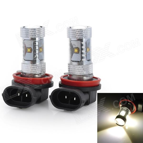 Marsing High Power H11 30W 2800LM 6500K 6-Osram LED White Light Car Fog / Head Light (12V / 2PCS)