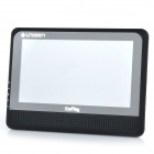 "MCS808-03 7"" LCD Car Monitor Displayer w/ Wi-Fi for IOS / Android Smart Phone - Black"