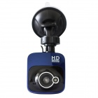 "HD 2.0"" 1080P 140 Degree Wide Angle Car DVR Recorder w/ Night Vision, H.264, Sensor, WDR - Blue"