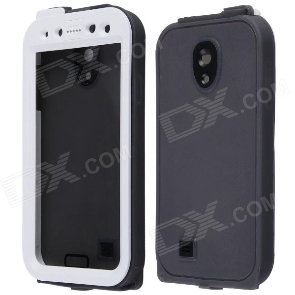 AOLUGUYA Anti Shock / Snow Water Resistant PC + Silicone Case for Samsung Galaxy S4 I9500 - White