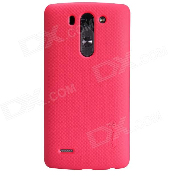 NILLKIN Matte Protective PC Back Case for LG G3 Beat - Red nillkin protective matte frosted pc back case cover for lg g3 stylus black