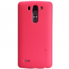 NILLKIN Matte Protective PC Back Case for  LG G3 Beat  - Red