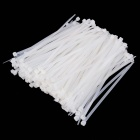 YDSL YDS-200M 8 x 200mm Self-Locking Nylon Cable Tie Wraps - White (250 PCS)