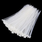 YDSL YDS-300M 8 x 300mm Self-Locking Nylon Cable Tie Wraps - White (250 PCS)