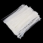 ZheJin ZJS-180M 3 x 180mm Self-Locking Nylon Cable Tie Wraps - White (500 PCS)