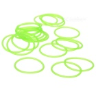 Glow-in-the-Dark Water-tight Silicone O-Ring Seal (24mm 20-Pack)