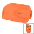 EDCGEAR ABS Double Sides Slim Money Clip Card Holder - Orange