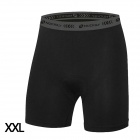 NUCKILY MK002 Ultra Thin Breathable Padded Cycling Shorts Pants - Black (XXL)
