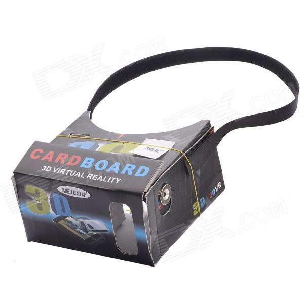 NEJE DIY Google Cardboard Virtual Reality 3D Glasses With NFC Headband for 4~7