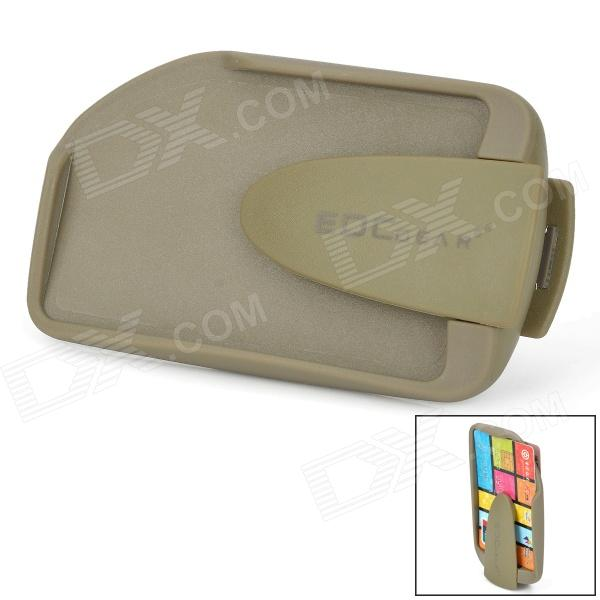 Holder EDCGEAR ABS lados dobles Delgado Money Card Clip