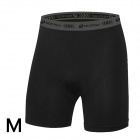 NUCKILY MK002 Ultra Thin Breathable Padded Cycling Shorts Pants - Black (M)