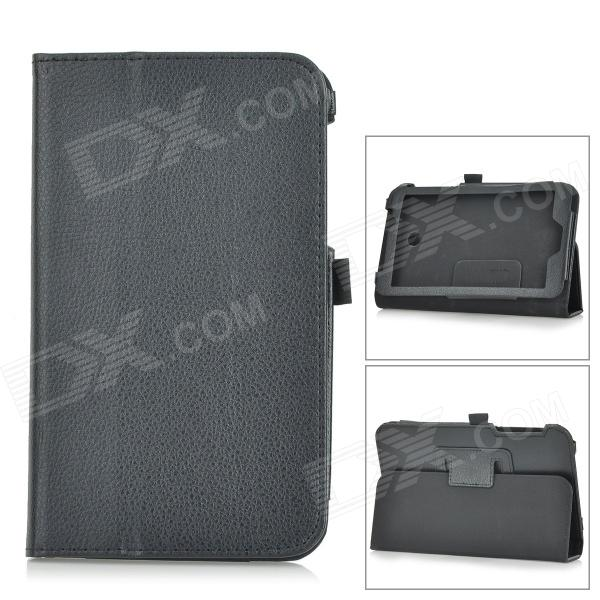 Lichee Pattern PU Leather Full Body Case w/ Stand for Asus FonePad 7 FE170CG - Black от DX.com INT