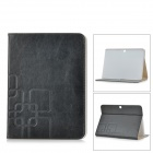 Protective PU Leather Full Body Case w/ Auto Sleep for Samsung Galaxy Tab 4 10.1 T530 / T531 - Black