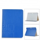 PU Leather Full Body Case w/ Auto Sleep for Samsung Galaxy Tab 4 10.1 T530 / T531 - Deep Blue