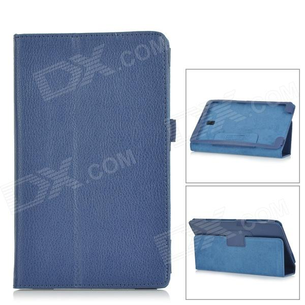 Lichee Pattern PU Leather Full Body Case for Samsung Galaxy Tab S T700 / T701 / T705 - Deep Blue от DX.com INT