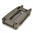 EDCGEAR Outdoor PVC Quick Release Buckle - Army Green