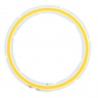 JRLED 12W 1000lm 3200K-44 COB LED Warm White Light Module - Silber + Fluorescent Yellow (DC 12V)