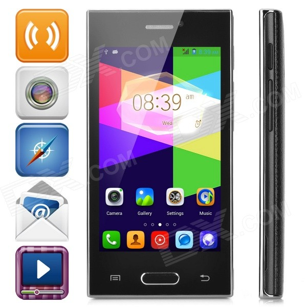 Z9005 Android 4.4 Dual-core WCDMA Bar Phone w/ 4.0