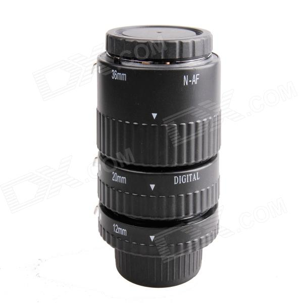 DEBO N-S Macro Extension Tube Set for Nikon - Black v n chavda m n popat and p j rathod farmers' perception about usefulness of agriculture extension system