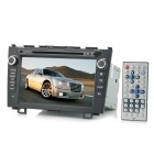 "KLYDE 8"" Touch Screen Car Multimedia DVD Player w/ GPS / Bluetooth / Wi-Fi for Honda CRV - Black"