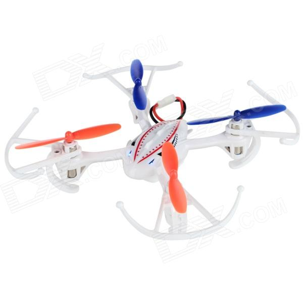 RunQia 2.4GHz 4-CH 6-Axis Outdoor R/C Quadcopter w/ Gyroscope - White (6 x AA)