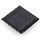 ZnDiy-BRY NF60-60 0.3W 6V 50mA Solar Panel - Black (60 x 60mm)