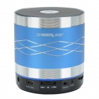 CHEERLINK SDH-802 Hi-Fi Bluetooth V2.1 + EDR Speaker w/ FM / AUX / TF / Mic. - Silvery Blue