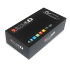 R89 4K Quad-Core H.265 Android 4.4.2 Google TV Player w / 2 Go de RAM, 8 Go de ROM, UK Plug - Noir