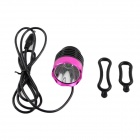 KINFIRE 7.2 ~ 8.4V 600lm 3-Mode White Bicycle Light w / Cree XM-L T6 - Pink + Black