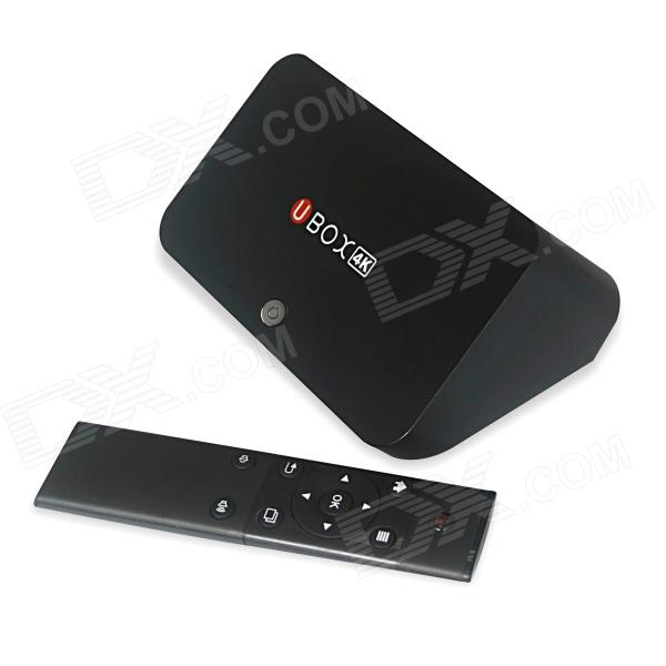 R89 4K Quad-Core H.265 Android 4.4.2 Google TV Player w/ 2GB RAM, 16GB ROM, UK Plug - Black mastech ms8260f 4000 counts auto range megohmmeter dmm frequency capacitor w ncv