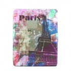 Eiffel Tower Pattern Pattern PU Leather Full Body Case with Stand for IPAD 2 / 3 / 4