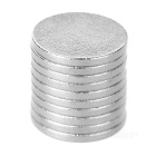 Super-Strong Rare-Earth RE Magnets (9mm x 1mm / 100-Pack) Suitable for Extending Batteries