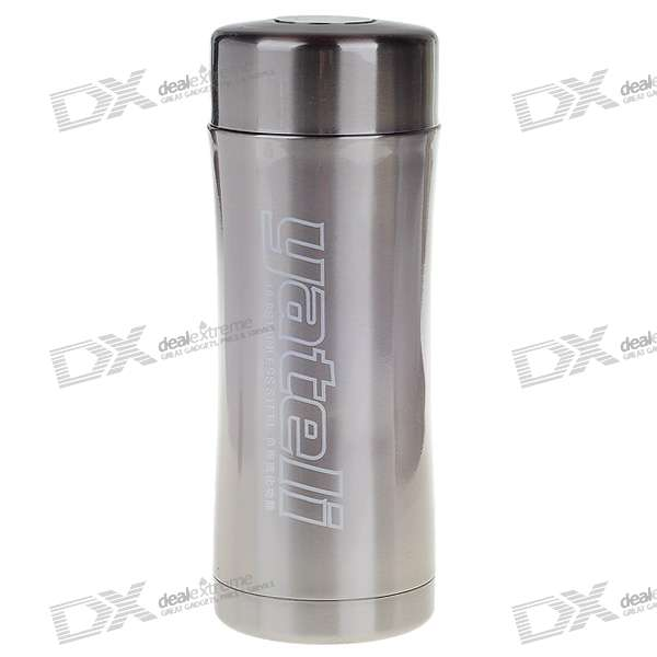 Stainless Steel Vacuum Bottle - Grey (400ml)