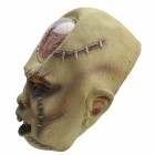 SYVIO Stylish Blister Ghost Mask for Halloween Party - Beige + Black + Multicolor
