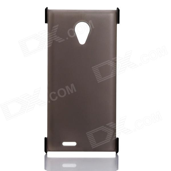 DOOGEE Protective PC Back Case for DOOGEE DAGGER DG550 - Gray 14 grey deer mongolian dagger with sheath