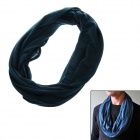 Stylish Multifunctional Outdoor Polyester + Cotton Scarf - Olive Green