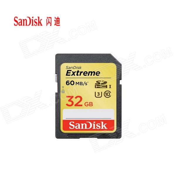SanDisk 32GB Extreme U3 / UHS-I SDHC Card (Class 10)